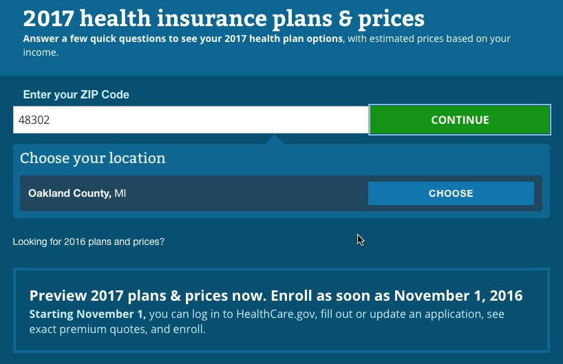 Healthcare Gov Quotes Amusing Healthcare.gov Window Shopping Now Open A Walkthru  Aca Signups