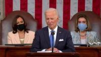 President Biden, Vice-President Harris, Speaker Pelosi